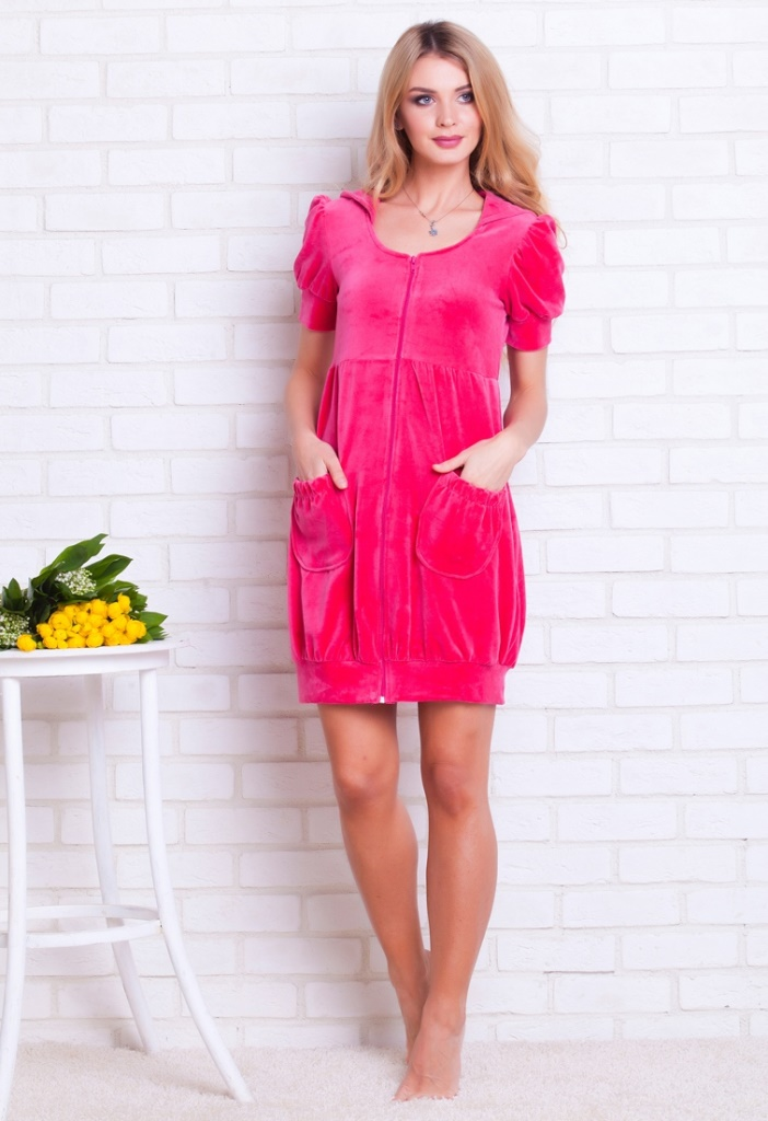 Велюровые халаты интернет магазин заказать платье